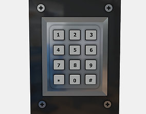 PBR Keypad 3D model