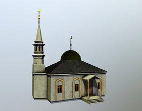 3D asset Mechet Mosque