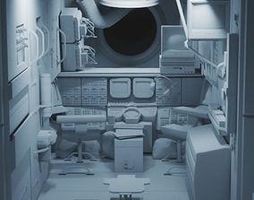 INSIDE Mir Space Station 3D model