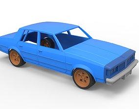 Diecast shell Oldsmobile Cutlass 3D printable model 5