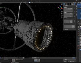 3D model Space station Spark of Civilization space