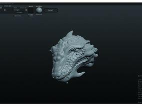 Lizadman 3D printable model