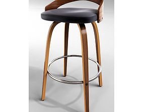 3D model Maxime 30 Swivel Bar Stool maxime