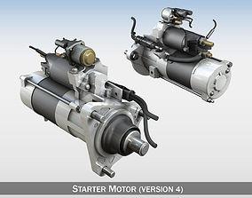 Starter Motor 04 3D model