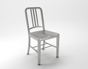 3D model navy chairs