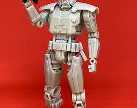 Dark Trooper - Mandalorian 6 inch 3D print model 2