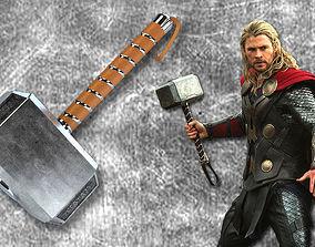 Thor Hammer 3D print model