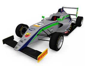 Tatuus T014 - Formula 4 - abarth 3D asset