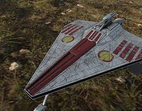 3D model Star Wars Acclamator