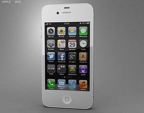 3D model Apple iPhone 4s