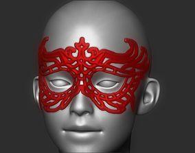 Evil Girl Mask 3D print model