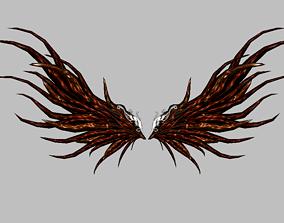 3D model Custom Devil Wing