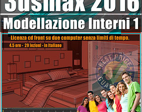 009 3ds max 2016 Modellazione Interni v 9 Italiano cd 1