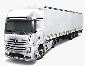 Mercedes Benz Actros 3D asset