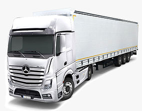 Mercedes Benz Actros 3D model