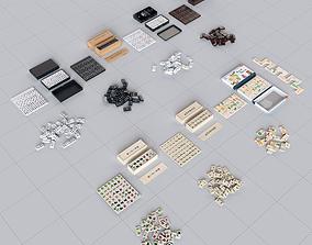 3D model Dominoes