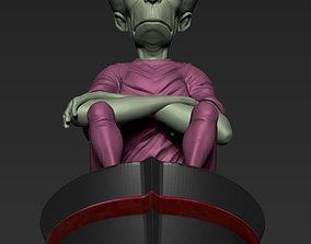3D printable model sci-fi Mekon from The Eagle Comic