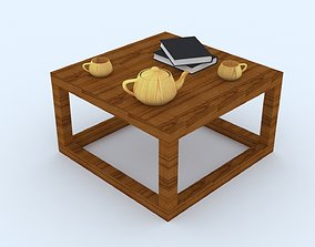 3D asset Teapoy Table
