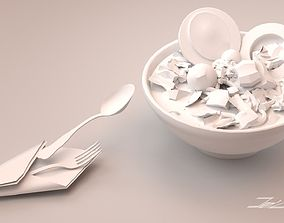 3D model Bakso an Original Culinary from Indonesia