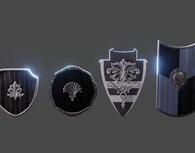 Shield Pack 3D asset