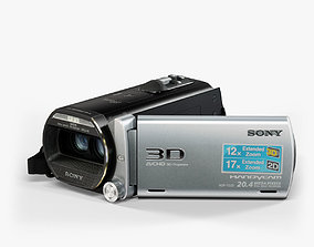 Sony Handycam HDR-TD20V 3D camcorder low-poly