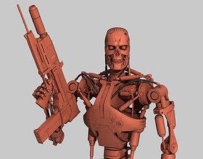 Terminator T-800 Endoskeleton for 3d printing skull