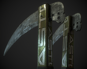 3D asset PAULOVICH MARGINAL WEAPON