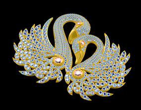 desigh demol of swan 3D Print modern