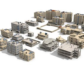 arabian city 27 Buildings 3D model