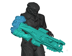 3D printable model Anthem Flashfire Volt Caster and 2