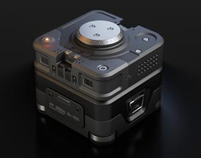 Sci-fi Crate 3D model space