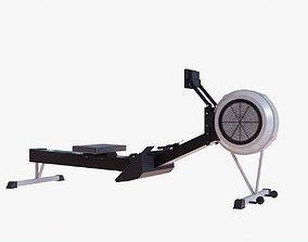 3D asset Rowing Machine - Indoor Rower - Gym Equipment
