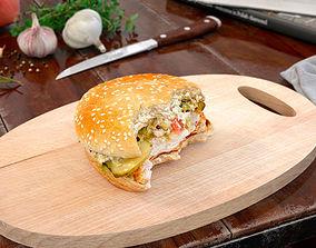 3D hamburger 41 AM150
