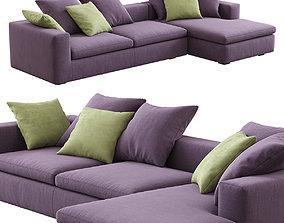 Bonaldo Land Corner Sofa 3D