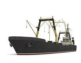 3D asset dry cargo ship