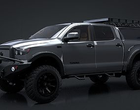 2012 Toyota Tundra Rigged C4D 3D model