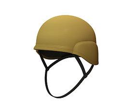 Combat Helmet 3D asset low-poly