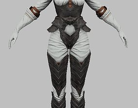 Woman Character teeth 3D