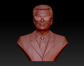 Bust man 3D print model