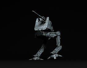 Star Wars All Terrain Defense Turret AT-DT 3D print model