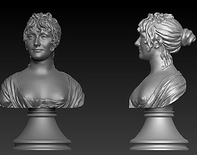 Bust Woman 3d model