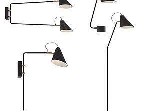 Danish Store - CLUB - 4 lamps contemporary 3D model