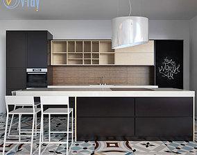 3D model Kitchen Furniture XVI oven