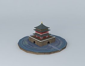 Bell Building, Xi'an, China 3D model