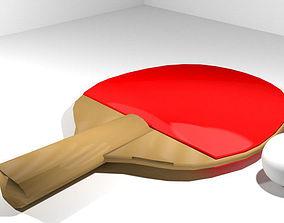 3D Sport Equipment - Ping-Pong