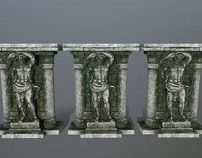 statue 2 3D asset realtime