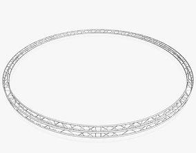3D model Circle Square Truss - Full diameter 1000cm