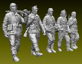 German soldiers 3D printable model military