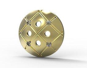 3D print model Golden Button