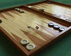 3D model Backgammon